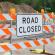 Road closure – Saturday, 21 September