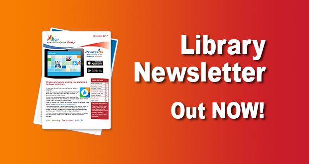 Library Newsletter Out Now – October 2017!